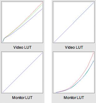 MonitorVsVideoLUTs