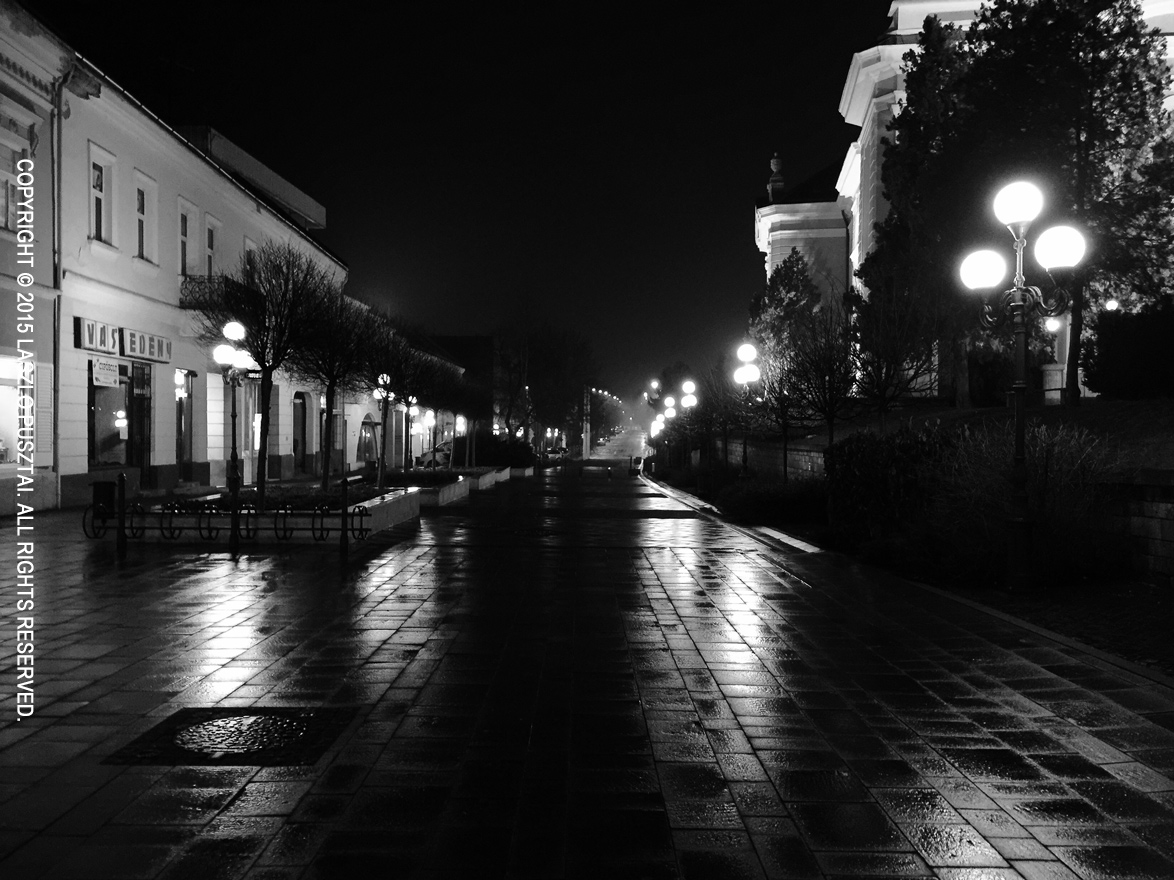 My Hometown at Night