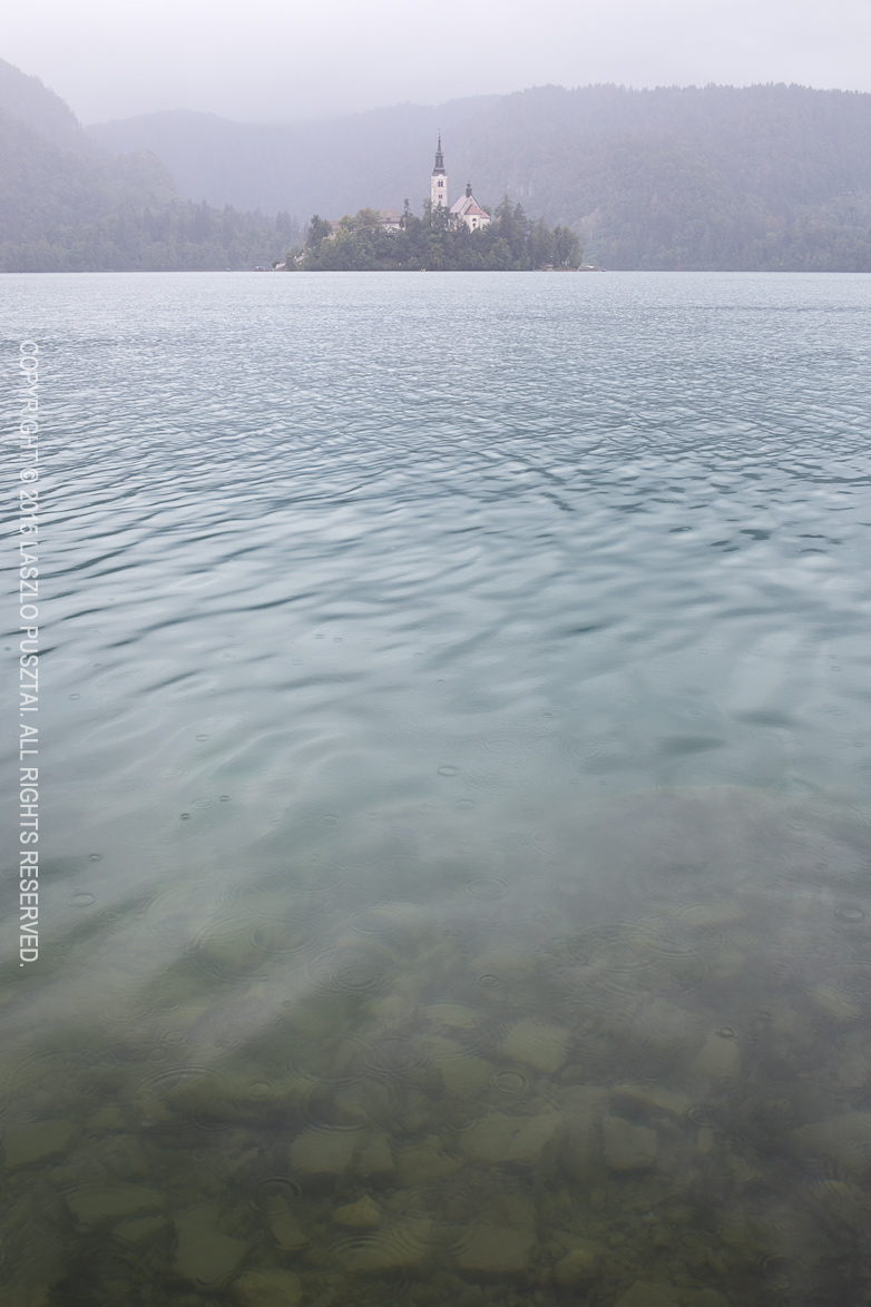 Late Summer Rain at Lake Bled