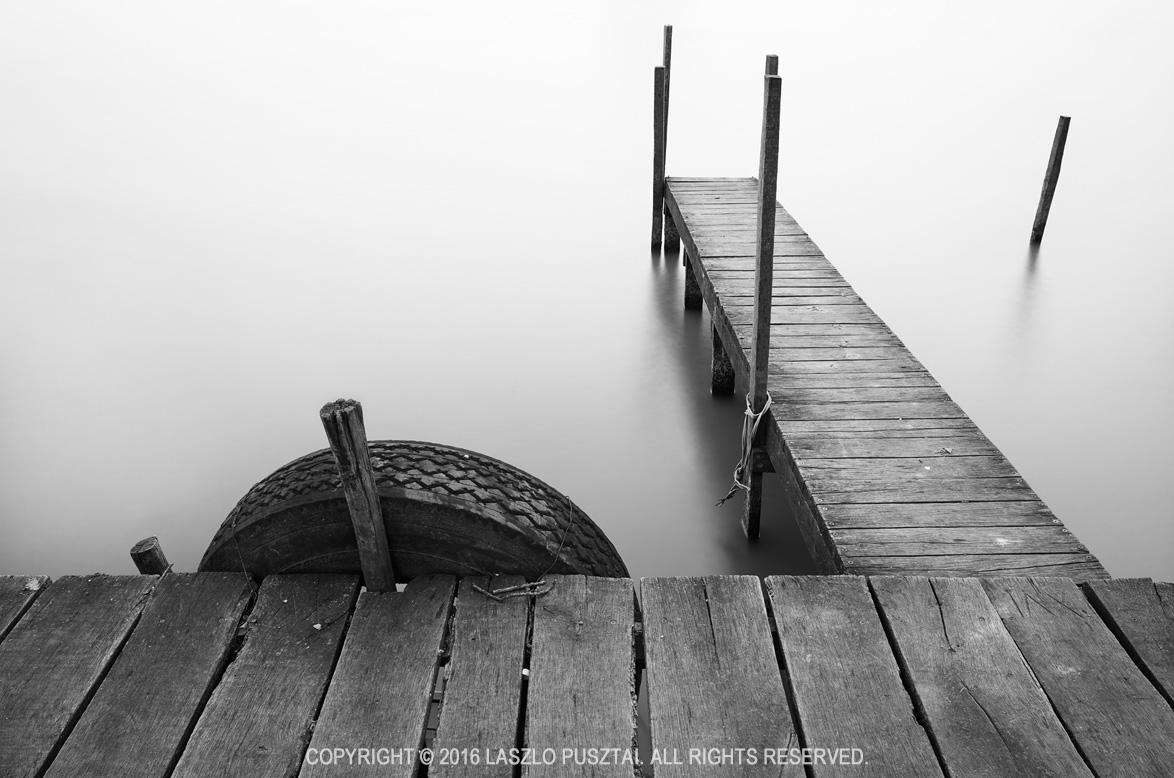 Early Spring Pier, Lake Tisza