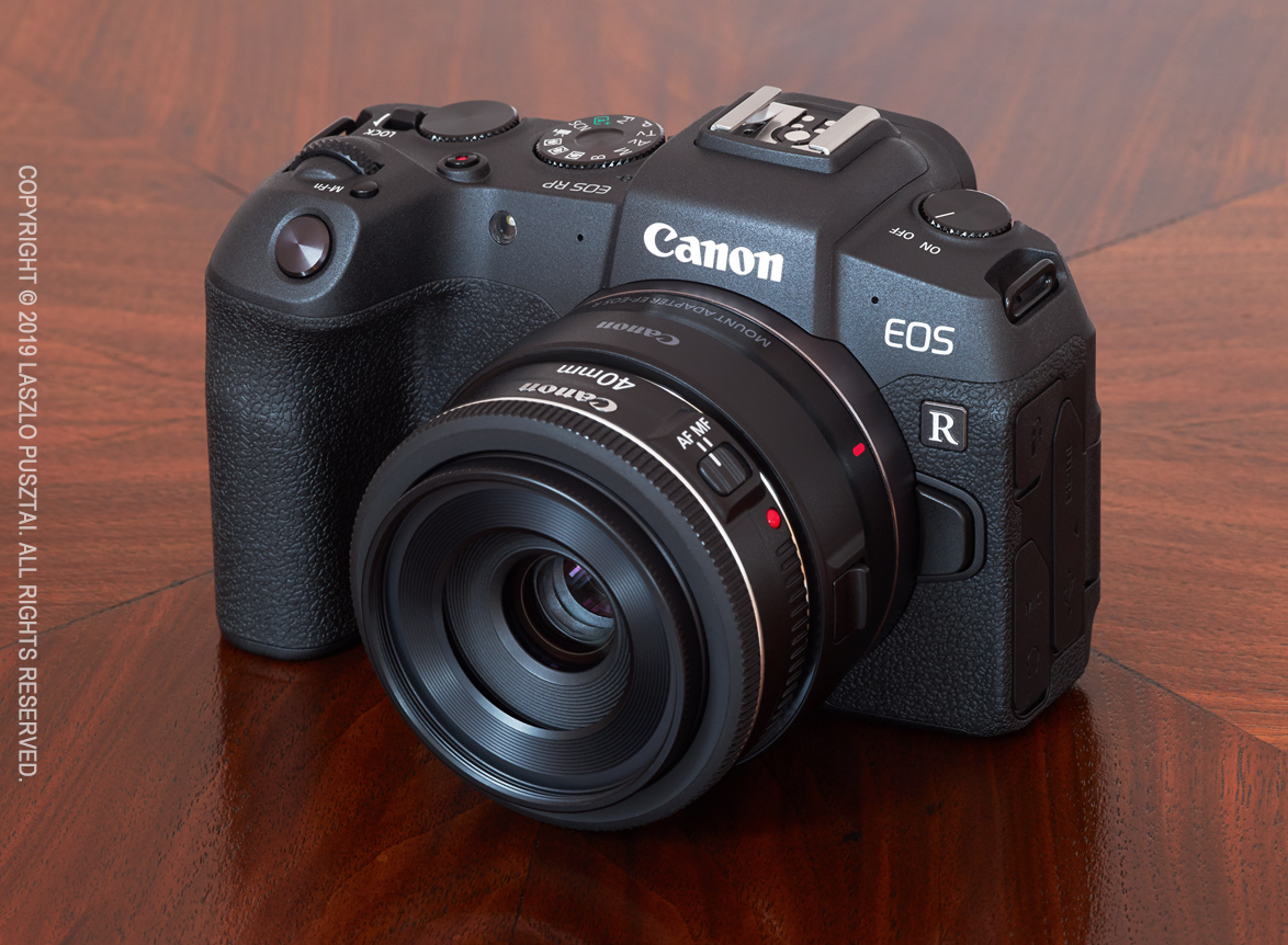 Canon EOS RP : My New Toy Camera